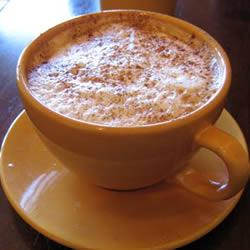 "Кофе латте ""белый шоколадный латте"""