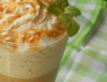 Ледяной кофе латте рецепт с карамелью