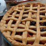 Мультифруктовый пирог