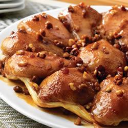 Пирог с грушей и лесным орехом
