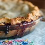 Пирог с ежевикой рецепт с добавлением яблок