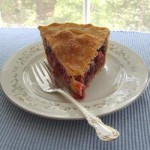 Пирог с ежевикой рецепт с ревенем и малиной