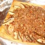 Пирог с яблоками рецепт со слоёным тестом