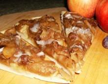 Пирог с яблоками рецепт яблочная пицца