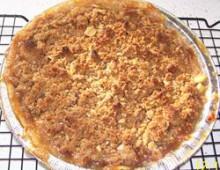 Пирог с яблоками рецепт Streus