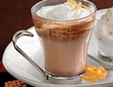 Рецепт кофе мокко с апельсиновым соком