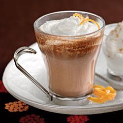 Кофе мокко с апельсиновым соком
