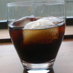 Кофе мокко с колой