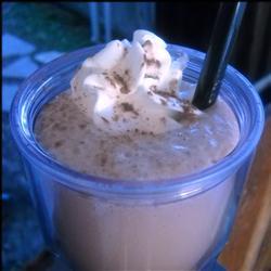 Кофе мокко с сыром рикотта