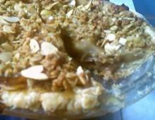 Рецепт пирог яблочный с карамельным соусом