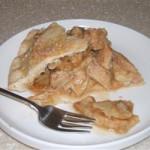 Рецепт пирог яблочный с карамелью