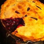 Элитный пирог с ежевикой рецепт с добавкой коньяка