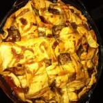 Яблочный пирог рецепт с впитывающейся карамелью