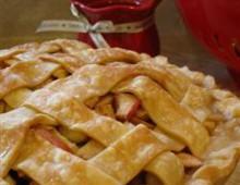 Яблочный пирог рецепт с карамельным соусом