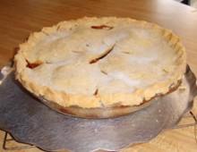 Яблочный пирог рецепт №4