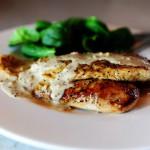 1 Обжаренная курица с горчичным соусом